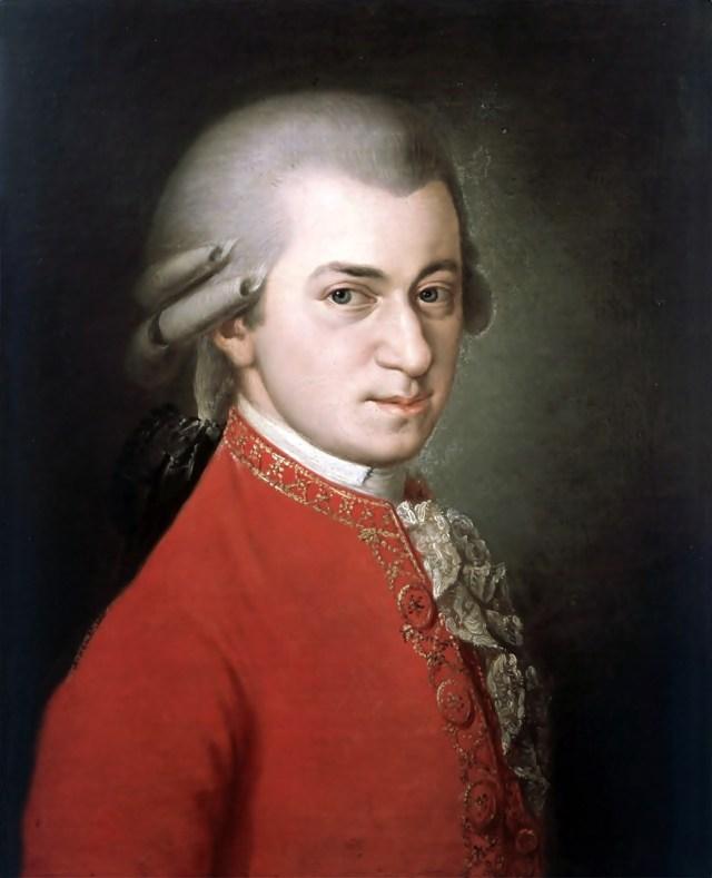 Посмертний портрет В. А. Моцарта