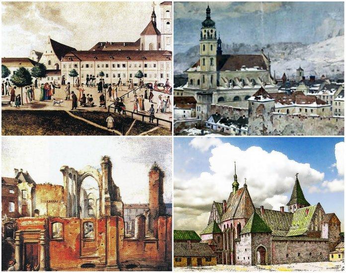 5 зниклих католицьких храмів давнього Львова