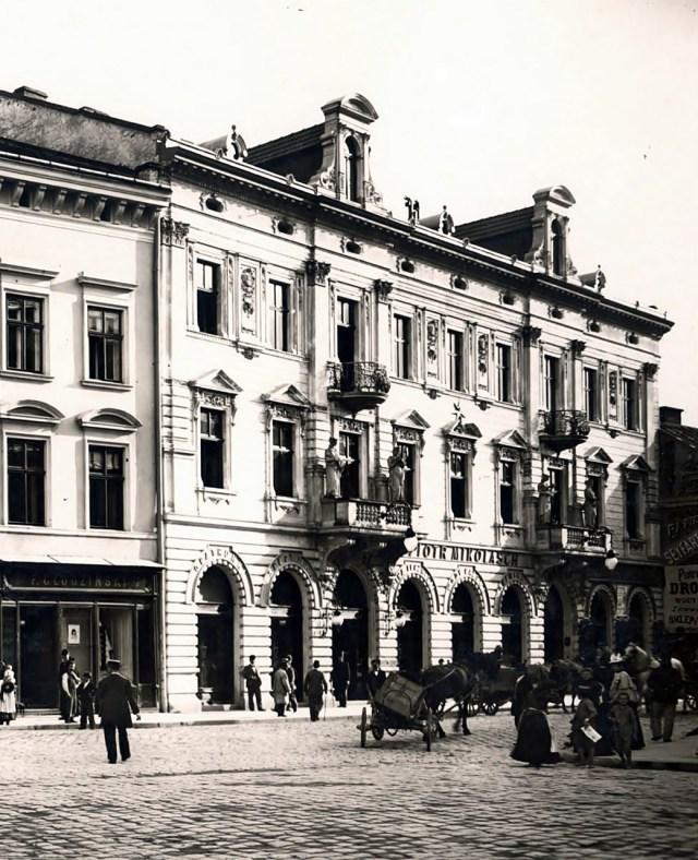 Початок вулиці Коперника у Львові, 1894 рік