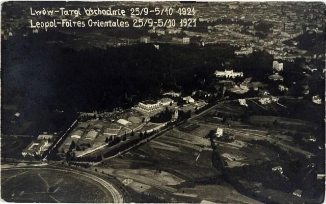 """Східні Торги в 1921 році. Місце, де буде збудовано """"Підкову"""" займають склади. Фото 1922 року"""