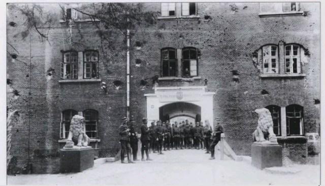 Львівська Цитадель. Фото 1918р (власність фото Котлобулатова І.)