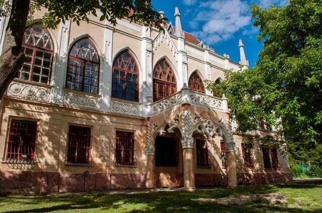 Палац Туркулів-Комелло на вулиці Пекарській, 50а