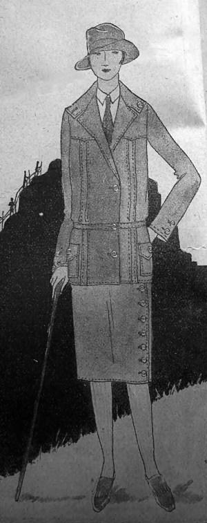 Одяг для мандрівок, 1926 р.