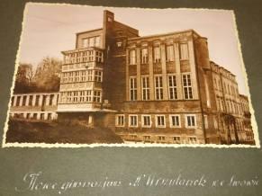 Будівля закладу Уршулянок, збудована в 1934 році. Фото 1934-1939 рр