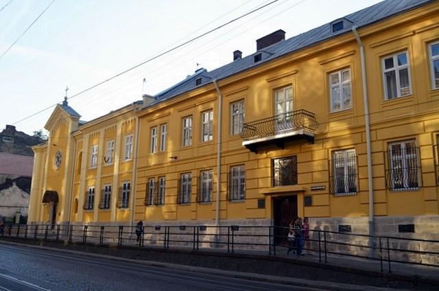 Монастир св. Климентія. Сучасний вигляд - http://cssr.lviv.ua/about/monasteries/