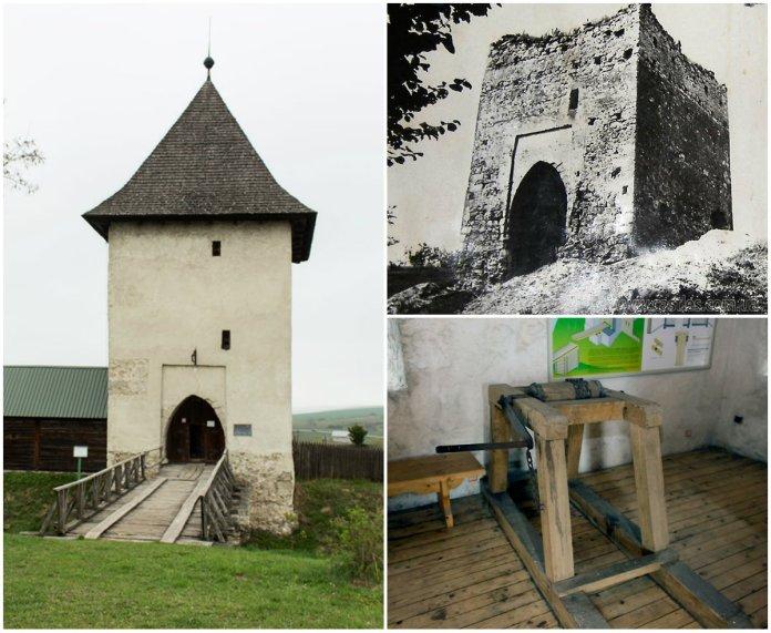 П'ятничанська вежа, або унікальна оборонна споруда в Україні з діючим підйомним мостом