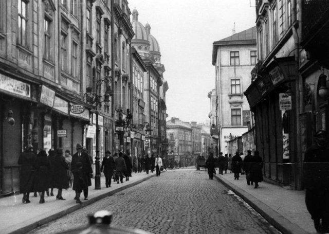 Вулиця Краківська в 1920-1930 рр.