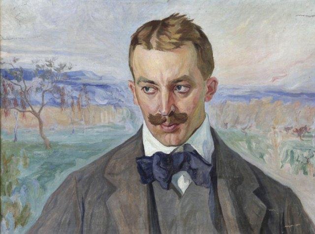 Олекса Новаківський. Портрет Івана Голубовського, 1905 р.