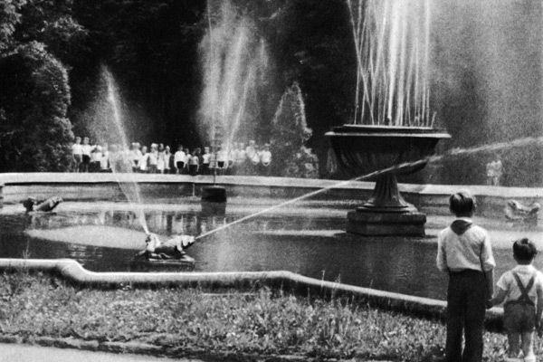 Фонтан в Стрийському парку в радянський час