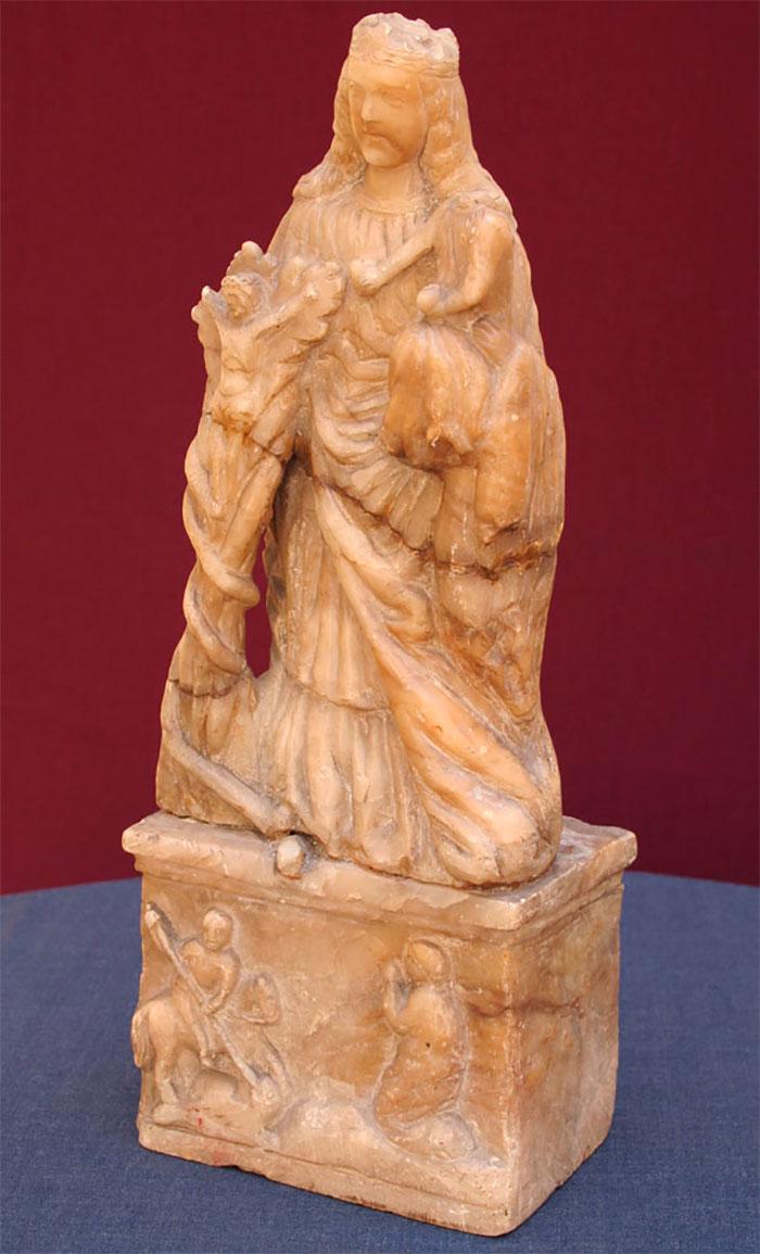 Скульптура Божої Матері з Дитям або т. зв. Гіацинтова Мадонна