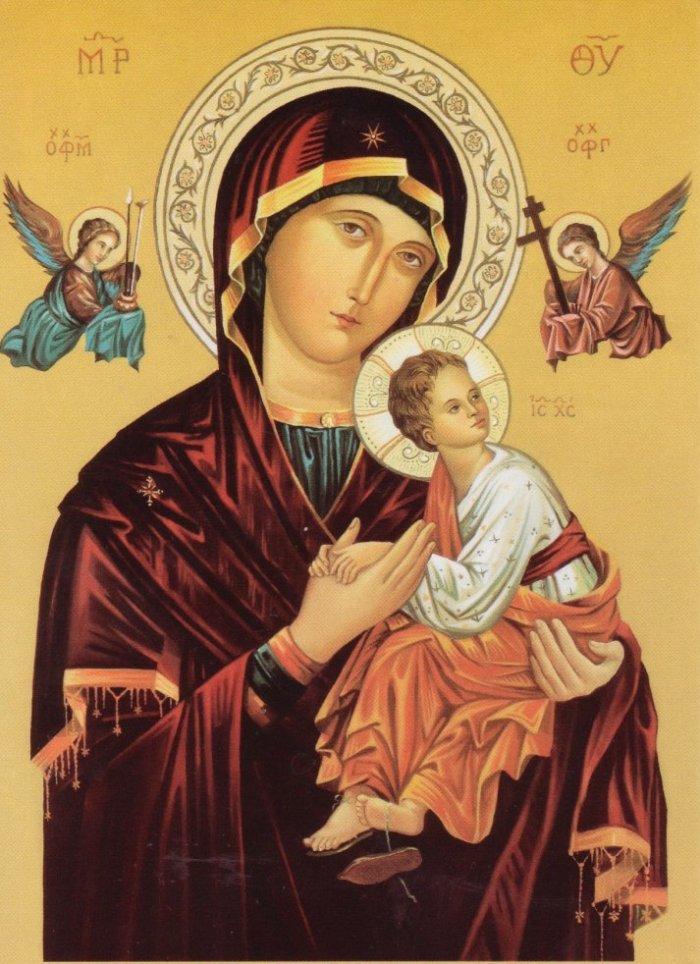 Ікона Матері Божої Неустанної Помочі