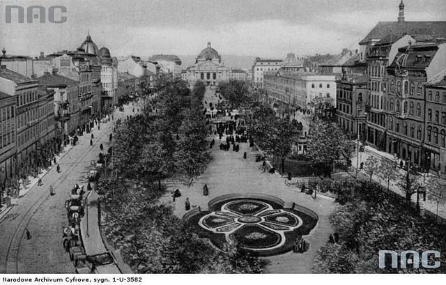 Проспект Свободи, 1915 р.