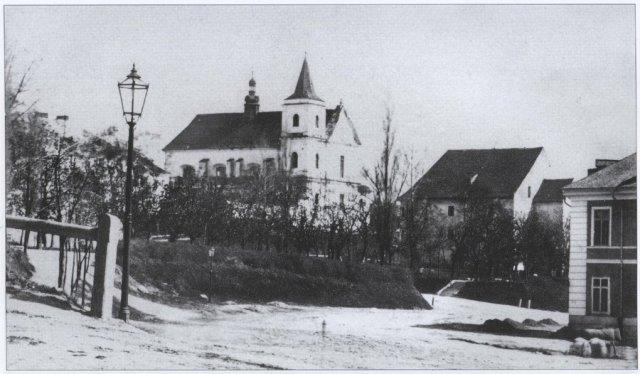 Одне із перших фотозображень Порохової вежі. Фото 1861-1863 рр.