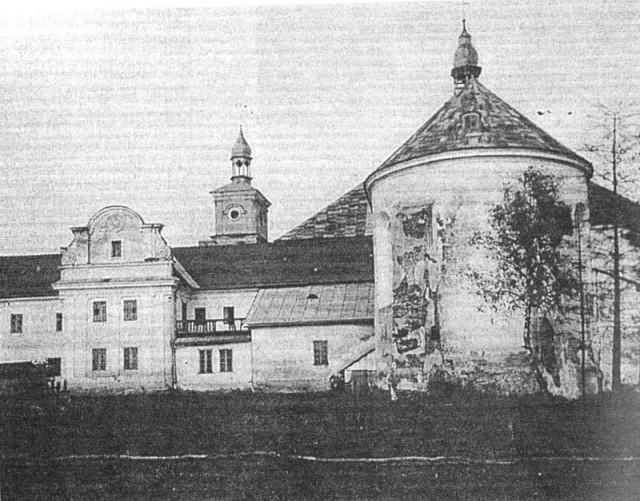 Монастир домініканців. Вигляд з півдня. Фото 1920 року