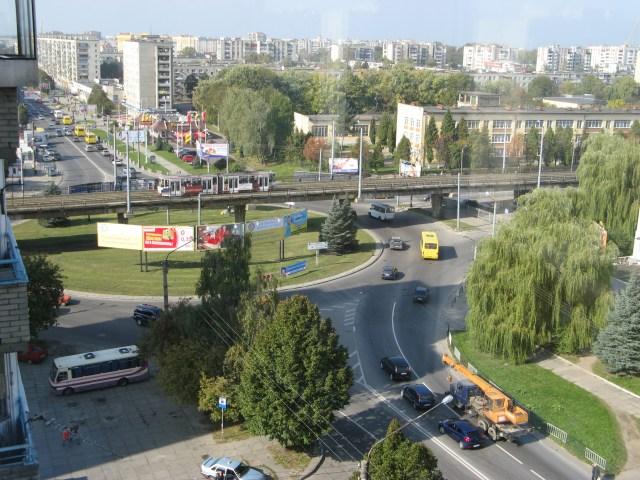 Загальний вид на вул. Володимира Великого. Сучасне фото