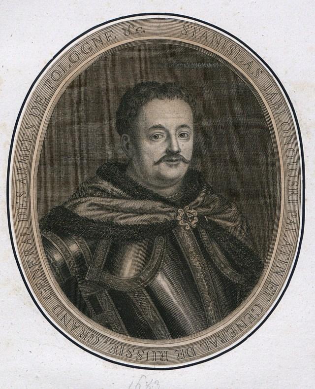 Гетьман Станіслав-Ян Яблоновський, 1691 р.