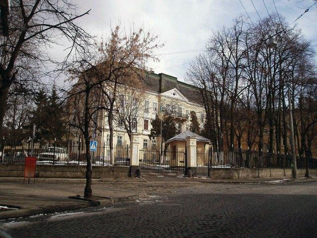 Сучасний вигляд палацу Дідушицьких