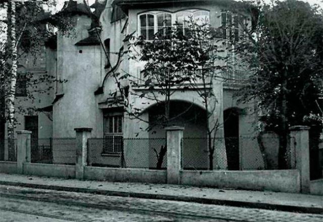 Вілла на львівській вулиці Набеляка, в якій у 1927–1939 роках було розташоване консульство СРСР. Автор: Narodowe Archiwum Cyfrowe / audiovis.nac.gov.pl