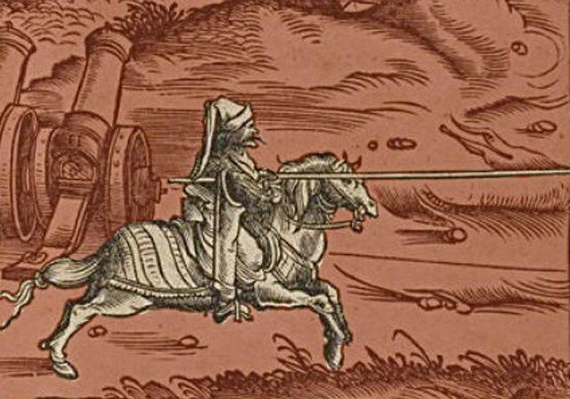 Зображення гусарів. XVII століття. Фото з http://dariocaballeros.blogspot.com