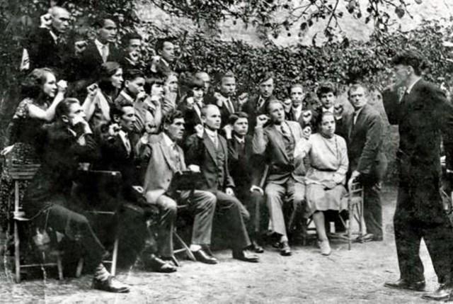Присяга неідентифікованих членів УВО,1920–1930-і роки (взято з http://gazeta.ua/articles/history-journal/_proshu-mene-suditi-ne-yak-bandita-a-yak-chlena-ukrayinskogo-narodu/618327?mobile=true)