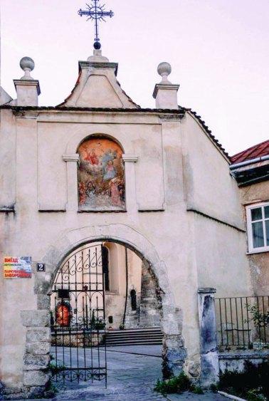 Брама до монастиря бенедиктинок