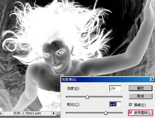 梅問題-photoshop教學-複雜背景頭髮去背