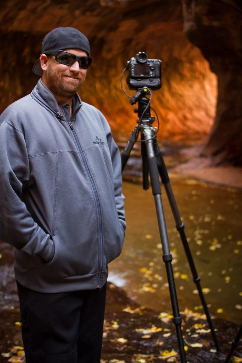 Jeremy Long at Zion National Park's Subway