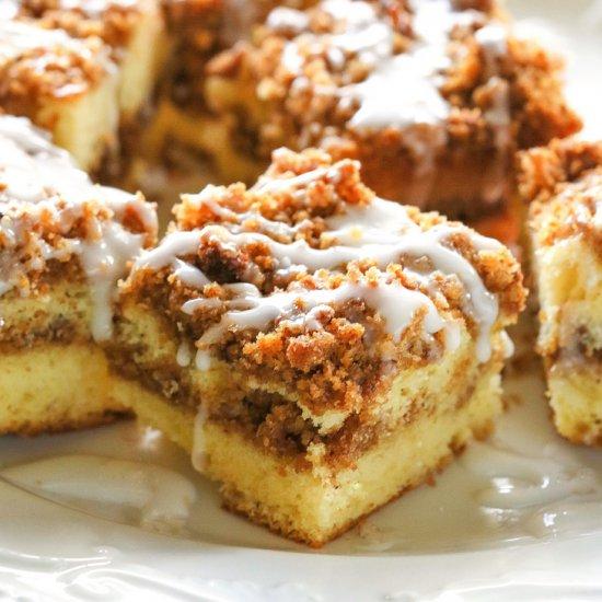 Paleo Graham Streusel Coffee Cake