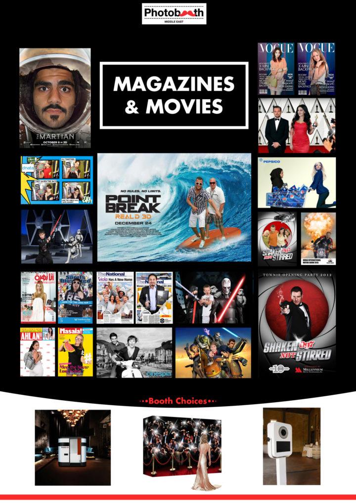 Movies, Magazines and Virtual Reality