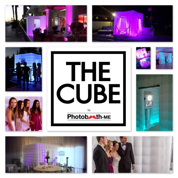 The Cube Inflatable Photo Booth