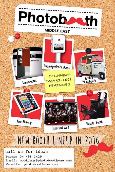 2016 Photobooth lineup