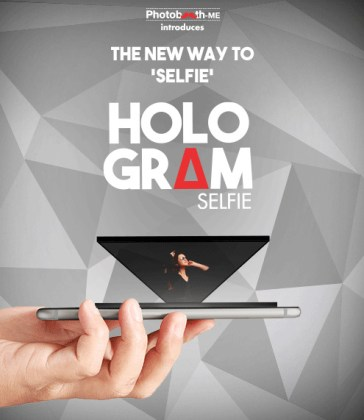HOLOGRAM Selfie Booth