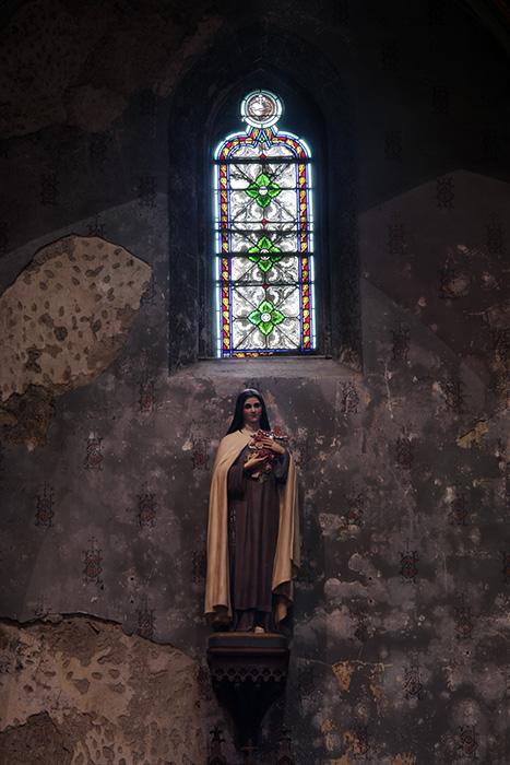 Une chapelle avant restauration