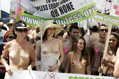 go topless day venice