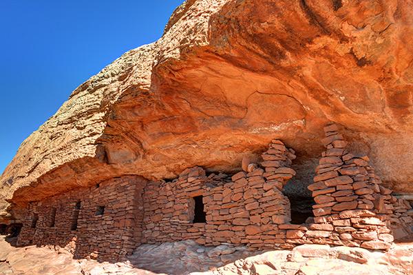 Citadel Anasazi Ruin - Cedar Mesa - Utah
