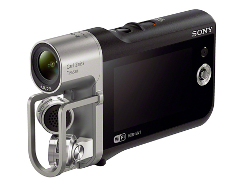 Sony HDR-MV1 Music Camcorder (4)