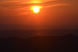 Shenandoah Sunset by Nathan Hetzler