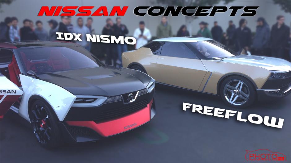 Nissan Freeflow & IDx Concepts