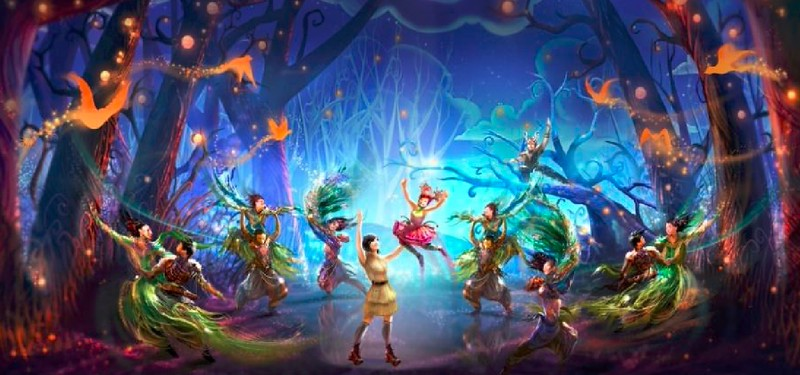 "TOKYO DISNEYSEA reveals 15th Anniversary art, ""Out of Shadowland"" Aerial Show"