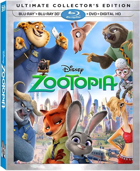 "REVIEW: ZOOTOPIA feature-loaded home release will take a while to ""try everything"""