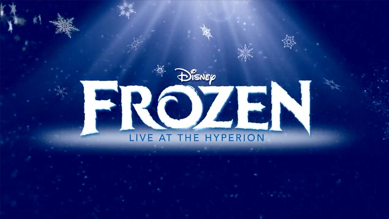 "A sneak peek at ""Love Is An Open Door"" music for FROZEN – LIVE AT THE HYPERION"