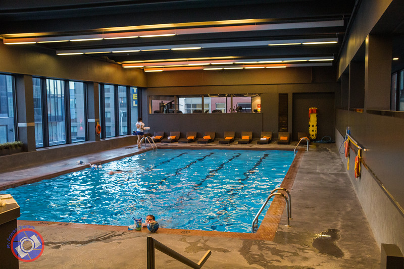 Hotel pur quebec city six legs will travel for Exercise pool canada