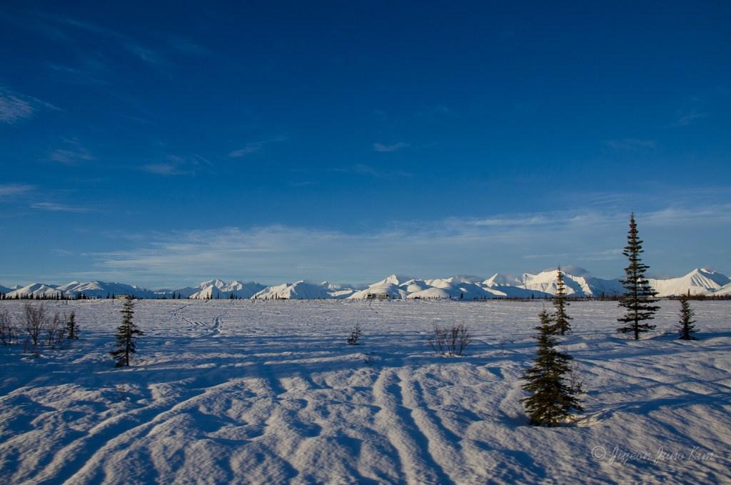 Alaska Range afar