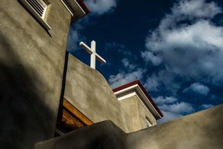 The San Antonio del Rio Colorado Church in Questa