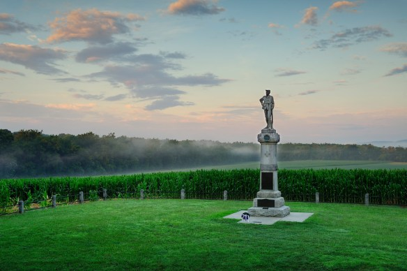 14th New Jersey Monument - Sunrise