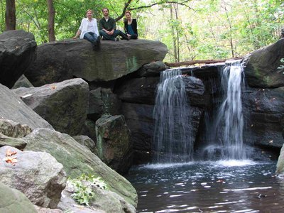 Hidden waterfalls and other treasures in Central Park