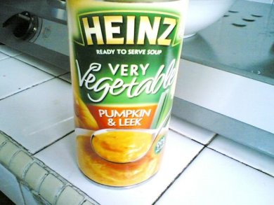 Heinz ready serve soup