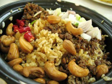 claypot olive rice