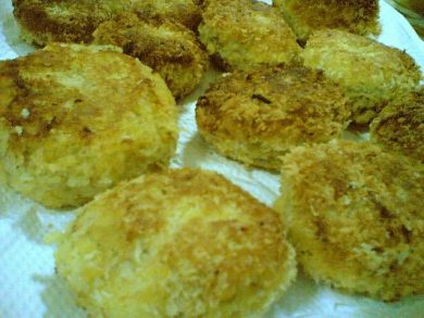 potato tuna croquettes