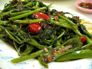 thai sambal kangkong